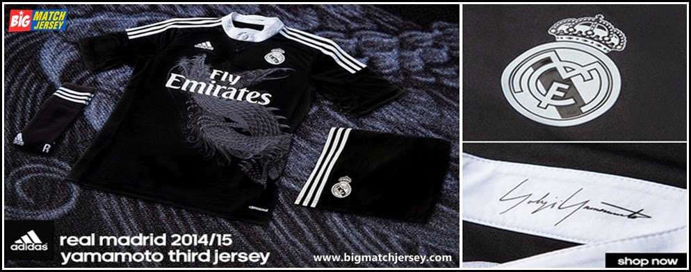 Jersey Real Madrid Third Dragon 2014-2015