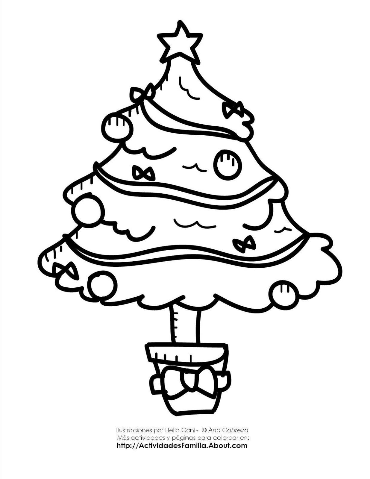 El cole de la alegría: Dibujos para colorear en Navidad