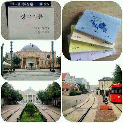 lokasi syuting - drama korea terbaru heirs, kisahromance