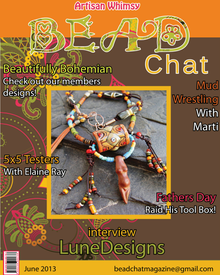 We Were Featured in Bead Chat!