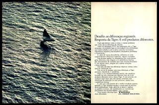 canos, válvulas, cotovelos Tigre; 1974; os anos 70; propaganda na década de 70; Brazil in the 70s, história anos 70; Oswaldo Hernandez;