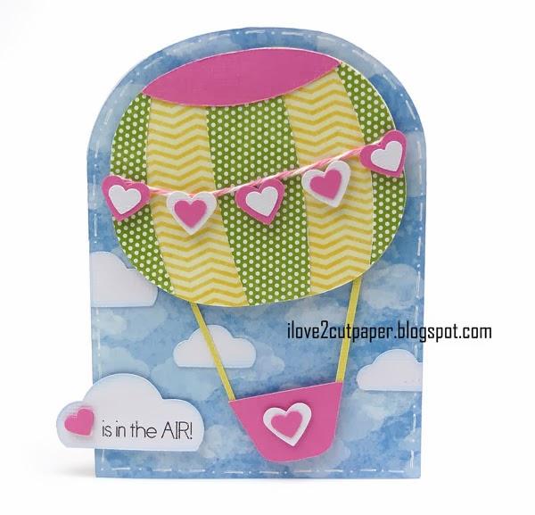 Hot Air Balloon, Love, Valentine