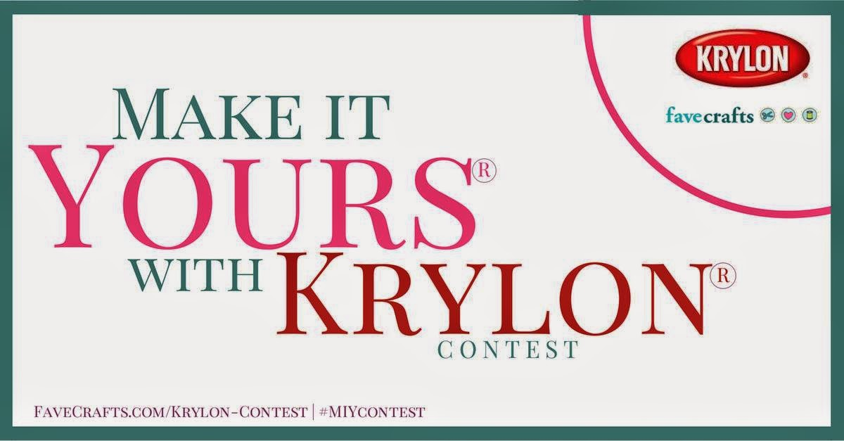 make it yours with krylon contest 2014