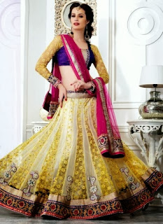 Embroidered Lehenga Designs