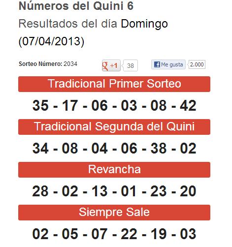 ganar quini6: