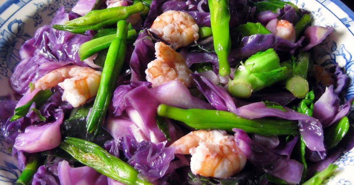 tumis kobis ungu n kimcham   tips resep cara membuat