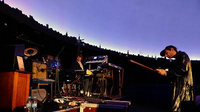 Bernd Kistenmacher, Tthomthom Geigenschrey, Planetarium am Insulaner Berlin / photo S. Mazars