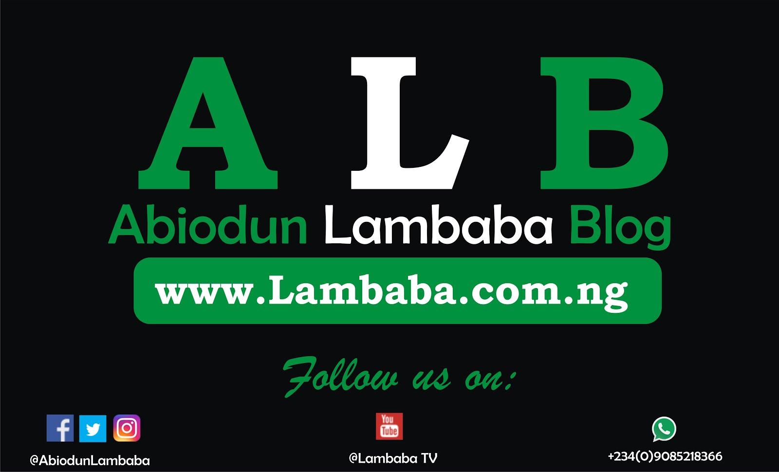 Abiodun Lambaba Blog