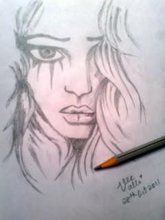 tears sketch