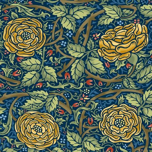 William Morris In Quilting Fabric Collections