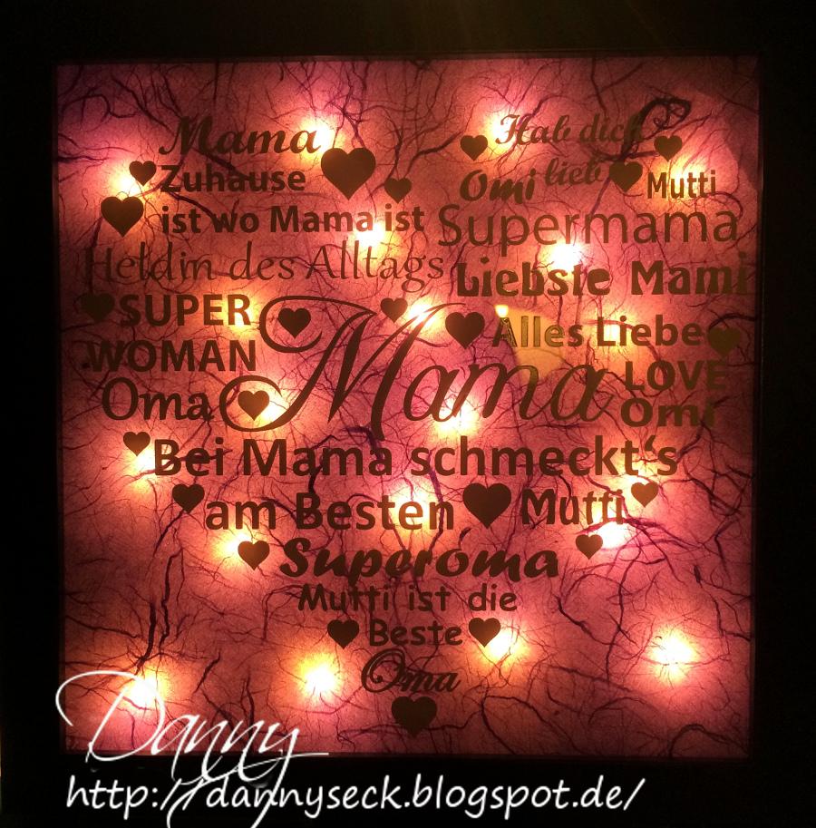 Dannys - Eck: Bilderrahmen für die Mama/Oma