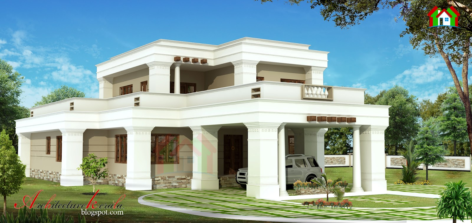 Architecture kerala traditional style kerala house design for Conventional style home