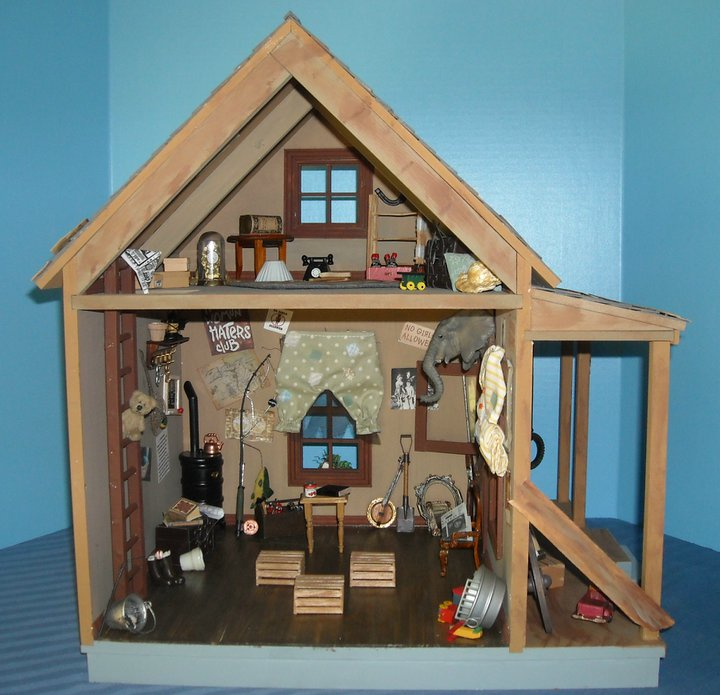 Corgis In My Garden: Miniature Little Rascals' Club House