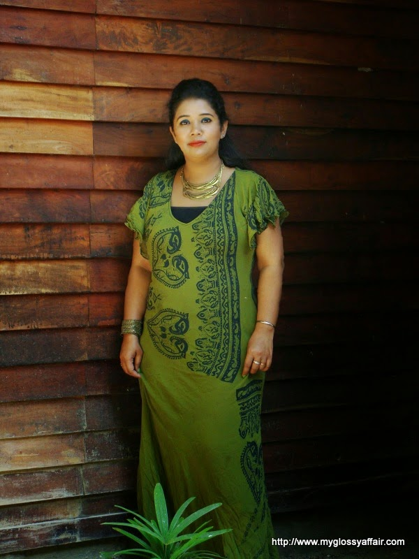 Outfit Post – Green Maxi Dress