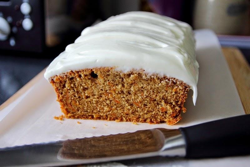 Martha Stewart Bakes Carrot Cake