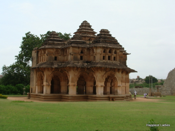 Lotus Mahal Zenana Enclosure Hampi