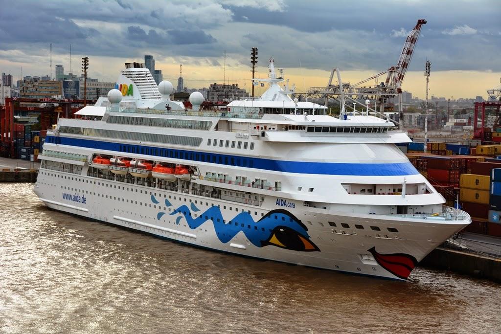 Port of Buenos Aires Aida cruises