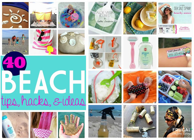 40 Beach Tips and Tricks