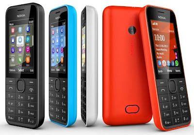 Nokia 208 (Single SIM)