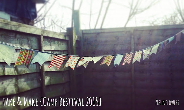 Take & make {Camp Bestival 2015} // 76sunflowers