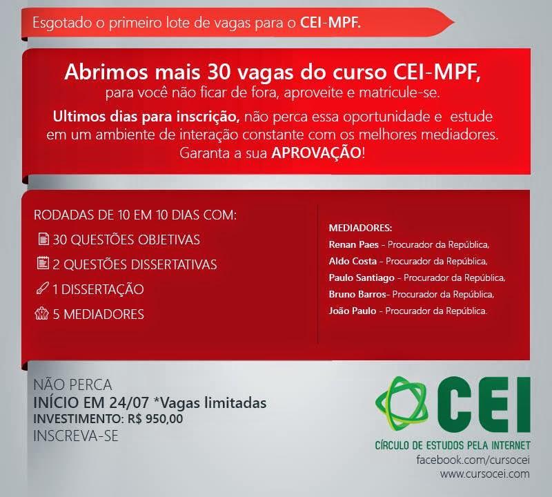 Curso CEI -MPF