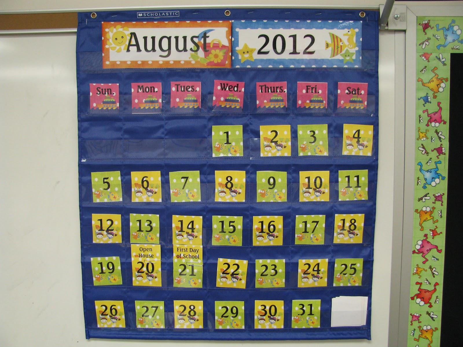 Diy Calendar For Classroom : Diy classroom calendar topsimages