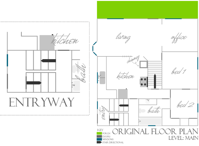 Entry Foyer Floor Plans : Black and white obsession entryway plan