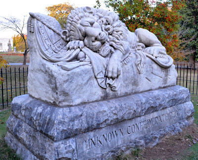 Historic Oakland Cemetery, The Lion of Atlanta