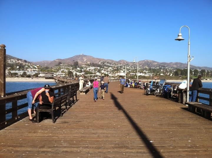 Dave 39 n 39 kathy 39 s vagabond blog strolling around ventura for Ventura pier fishing