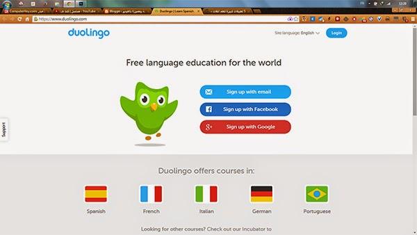 أفضل الخدمات للتعلم اللغات مجانا على الانترنت