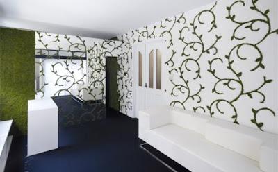 Design wallpaper kamar tidur dan kamar keluarga