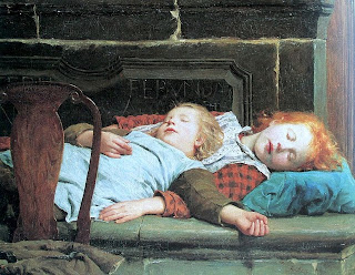 artwork-children-sleeping