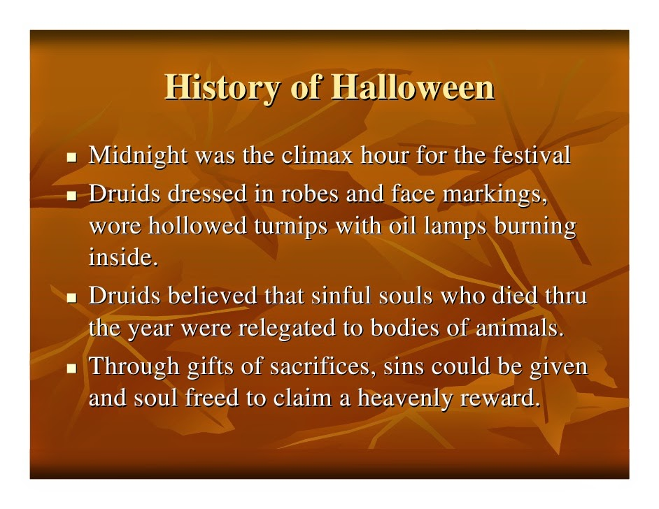 halloween history and origin pdf
