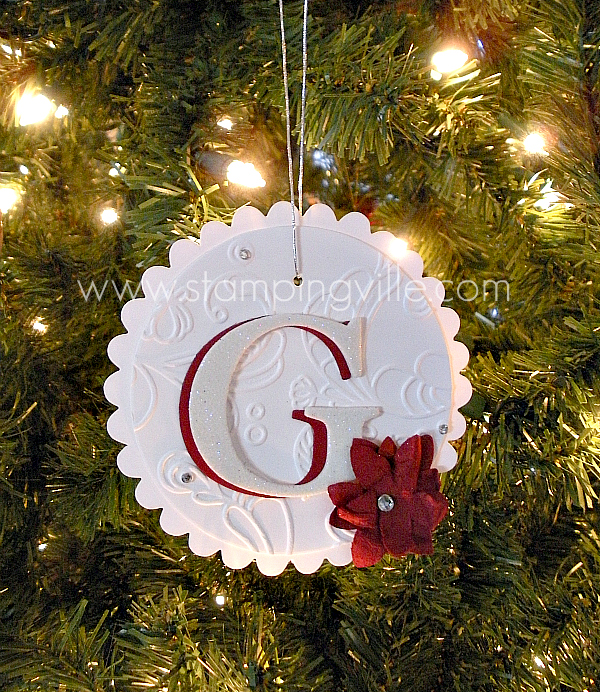 Homemade Paper Christmas Ornaments: Christmas Crafts: Simple Ornament