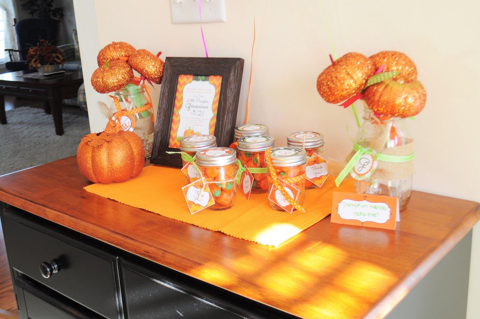 My Little Pumpkin Party Inspiration: Real Party, Supplies, & an ...