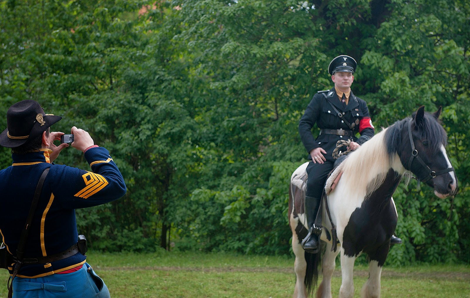U.S. Cavalry, German Soldiers, WWII, World War II