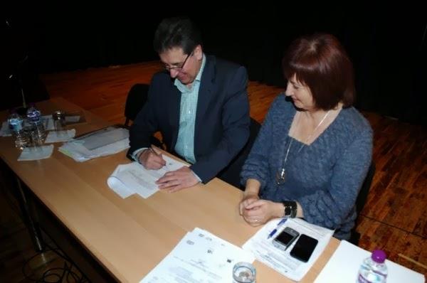 Υπογραφή δημοπράτησης έργων για το Δήμο Βοΐου. Βίντεο και φωτογραφίες..