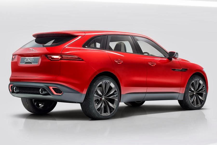 Jaguar C-X17 Sports Crossover Concept (2014) Rear Side
