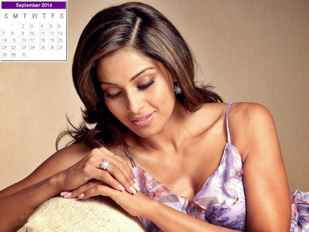 Bipasha Basu Calendar 2014