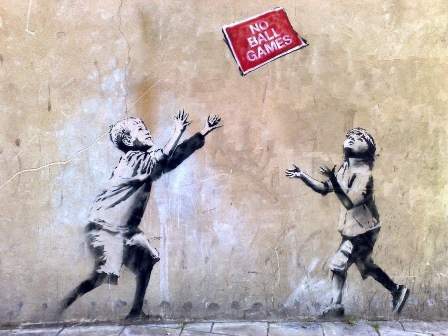 BANKSY, A STREET ARTIST