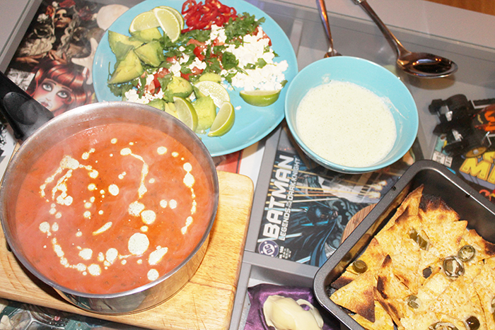 Mexican Soup for Halloween