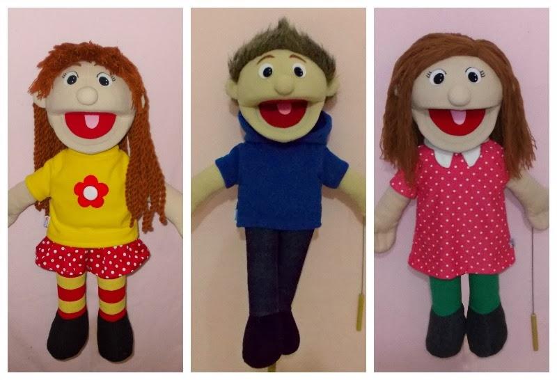 Buatan Tsabita Boneka: Muppet Cablak pesanan di bulan
