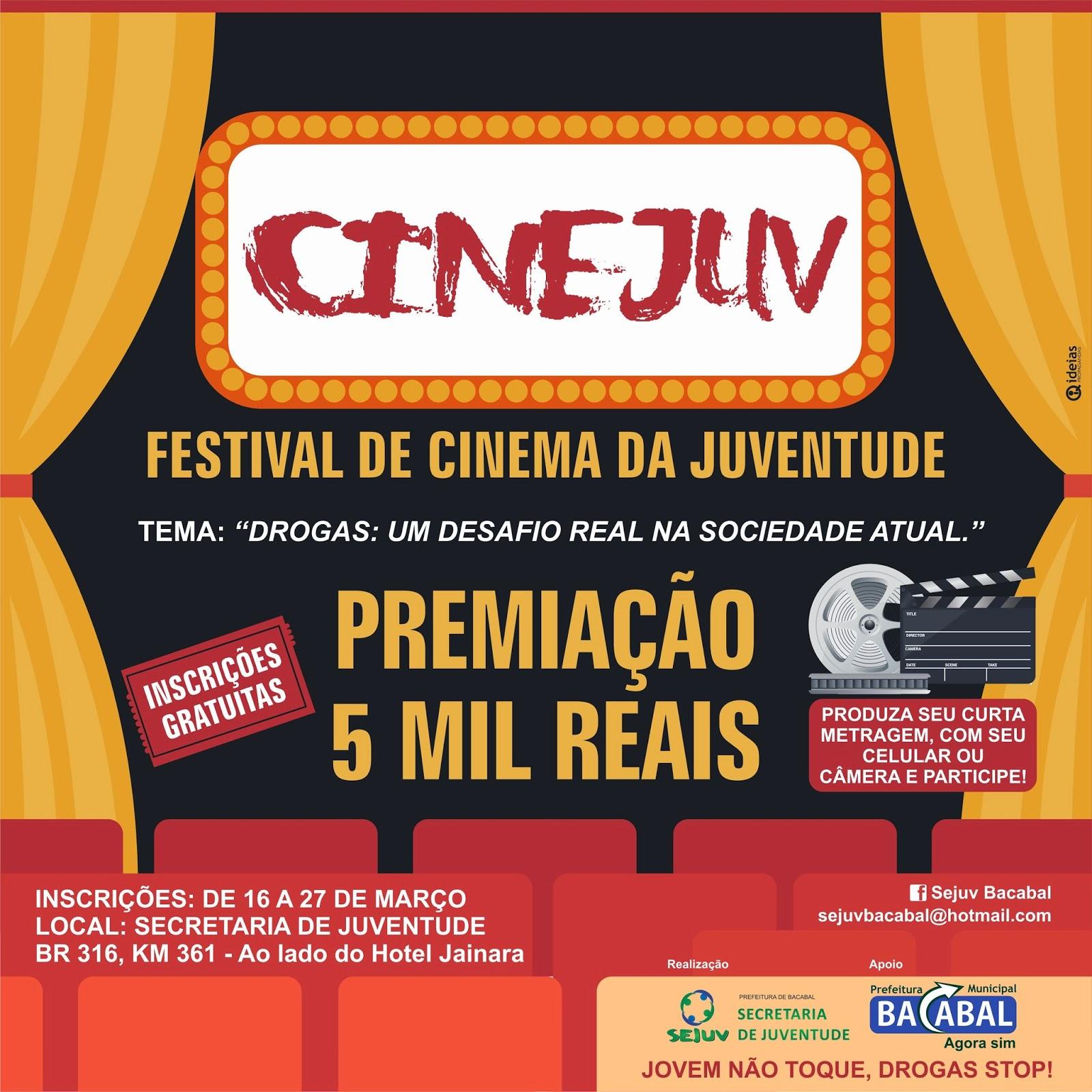 CINEJUV Bacabal 2015 - Festival de Cinema da Juventude