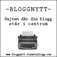 Bloggnytt - Fixas Bloggportal