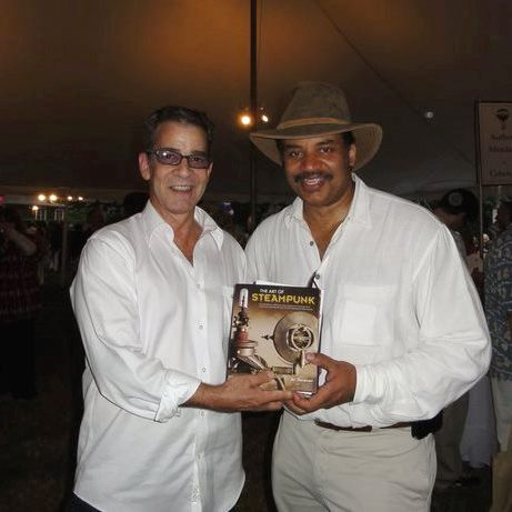 Art DOnovan with Dr. Neil DeGrasse Tyson, Authors Night 2011