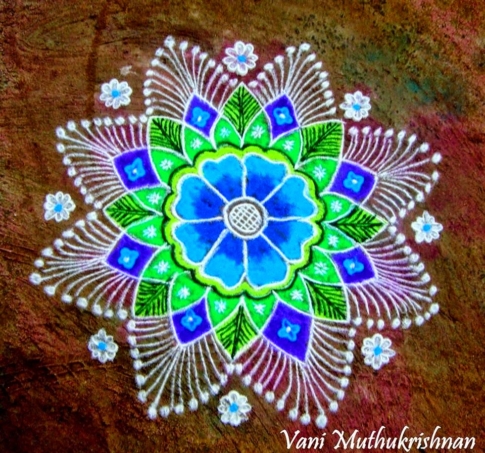 Art Design : Kolam designs for festivals