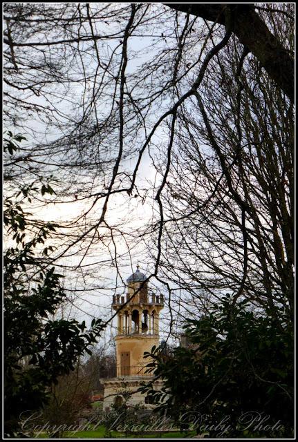 Tour Marlborough hameau de la reine Versailles