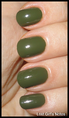 china glaze fall 2011 westside warrior nail polish swatch
