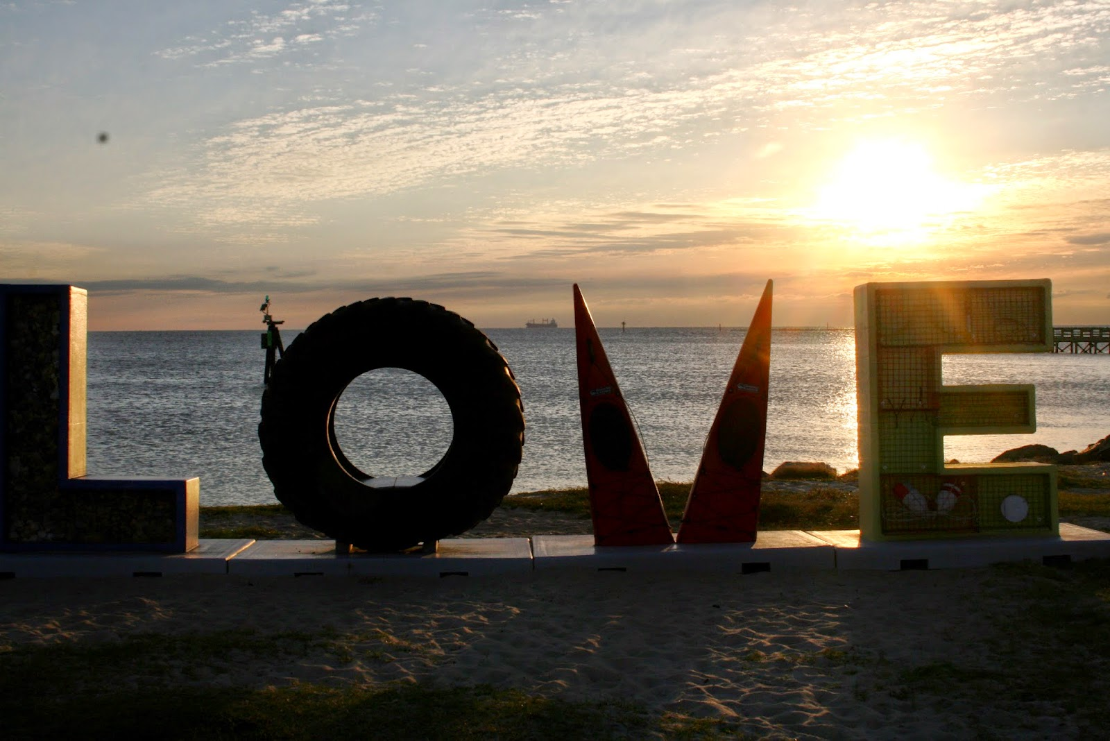 LOVE in Cape Charles, VA on Blog With The Browns