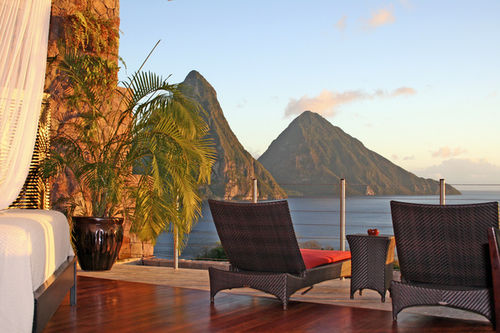 Jade Mountain Resort in Saint Lucia